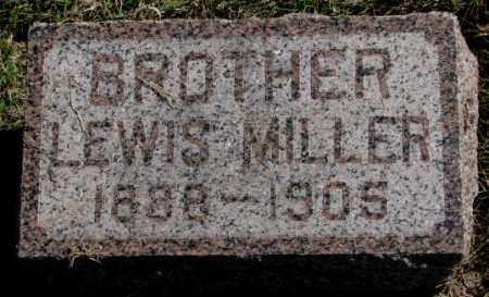 MILLER, LEWIS - Clay County, South Dakota   LEWIS MILLER - South Dakota Gravestone Photos