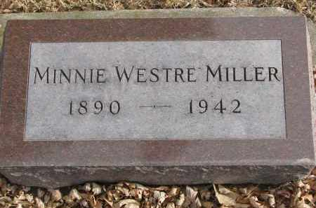 MILLER, MINNIE - Clay County, South Dakota   MINNIE MILLER - South Dakota Gravestone Photos
