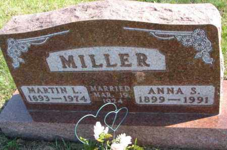 MILLER, ANNA S. - Clay County, South Dakota | ANNA S. MILLER - South Dakota Gravestone Photos