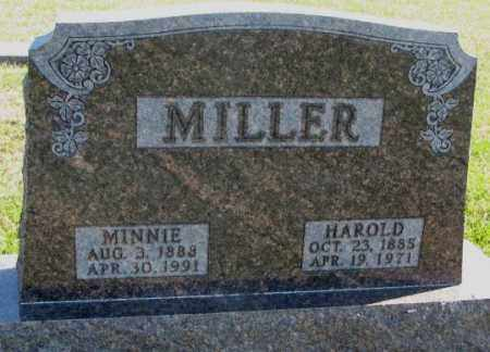 MILLER, HAROLD - Clay County, South Dakota | HAROLD MILLER - South Dakota Gravestone Photos