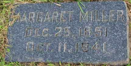 MILLER, MARGARET - Clay County, South Dakota   MARGARET MILLER - South Dakota Gravestone Photos