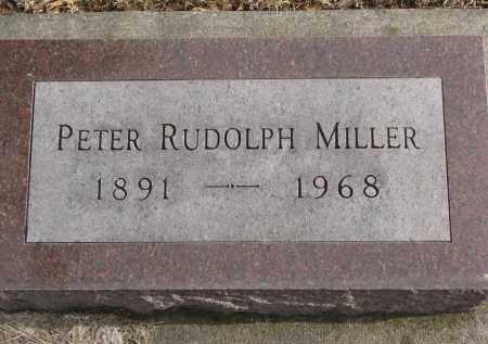 MILLER, PETER RUDOLPH - Clay County, South Dakota | PETER RUDOLPH MILLER - South Dakota Gravestone Photos
