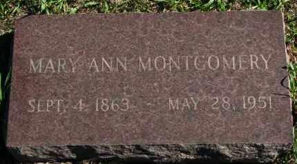 MONTGOMERY, MARY ANN - Clay County, South Dakota | MARY ANN MONTGOMERY - South Dakota Gravestone Photos