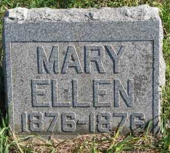 MONTGOMERY, MARY ELLEN - Clay County, South Dakota   MARY ELLEN MONTGOMERY - South Dakota Gravestone Photos