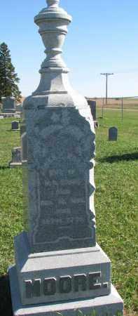 MOORE, AGNES E. - Clay County, South Dakota   AGNES E. MOORE - South Dakota Gravestone Photos