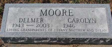 MOORE, DELMER - Clay County, South Dakota | DELMER MOORE - South Dakota Gravestone Photos