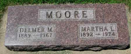 MOORE, DELMER M. - Clay County, South Dakota   DELMER M. MOORE - South Dakota Gravestone Photos