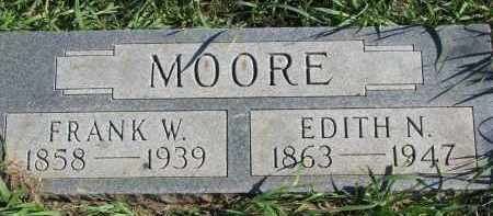MOORE, FRANK W. - Clay County, South Dakota | FRANK W. MOORE - South Dakota Gravestone Photos