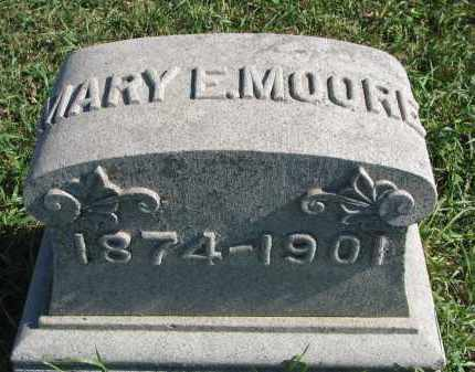 MOORE, MARY E. - Clay County, South Dakota | MARY E. MOORE - South Dakota Gravestone Photos