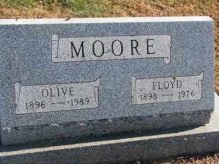 MOORE, FLOYD - Clay County, South Dakota | FLOYD MOORE - South Dakota Gravestone Photos