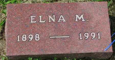 MORTENSON, ELNA M. - Clay County, South Dakota | ELNA M. MORTENSON - South Dakota Gravestone Photos