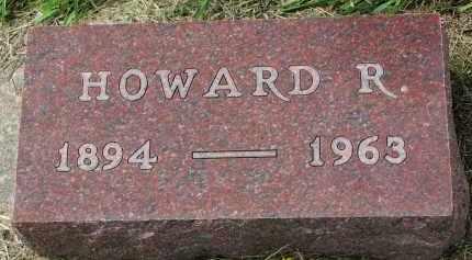 MORTENSON, HOWARD R. - Clay County, South Dakota | HOWARD R. MORTENSON - South Dakota Gravestone Photos