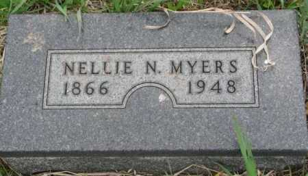 MYERS, NELLIE N. - Clay County, South Dakota | NELLIE N. MYERS - South Dakota Gravestone Photos