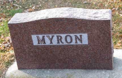 MYRON, FAMILY STONE - Clay County, South Dakota | FAMILY STONE MYRON - South Dakota Gravestone Photos