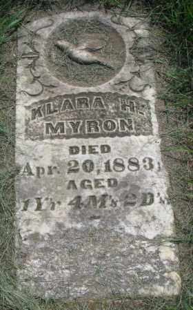 MYRON, KLARA H. - Clay County, South Dakota | KLARA H. MYRON - South Dakota Gravestone Photos