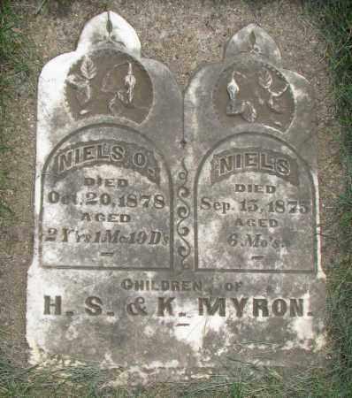 MYRON, NIELS O. - Clay County, South Dakota | NIELS O. MYRON - South Dakota Gravestone Photos