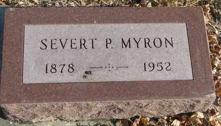 MYRON, SEVERT P. - Clay County, South Dakota | SEVERT P. MYRON - South Dakota Gravestone Photos