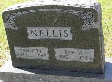 NELLIS, EVA A. - Clay County, South Dakota   EVA A. NELLIS - South Dakota Gravestone Photos