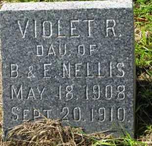 NELLIS, VIOLET R. - Clay County, South Dakota   VIOLET R. NELLIS - South Dakota Gravestone Photos
