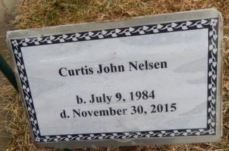 NELSEN, CURTIS JOHN - Clay County, South Dakota | CURTIS JOHN NELSEN - South Dakota Gravestone Photos