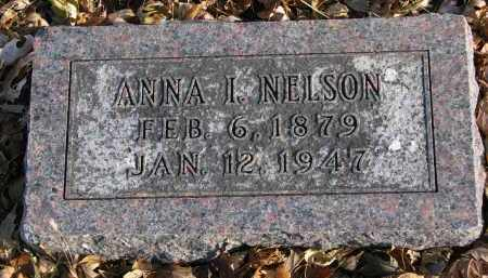 NELSON, ANNA I. - Clay County, South Dakota | ANNA I. NELSON - South Dakota Gravestone Photos