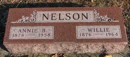NELSON, ANNIE B. - Clay County, South Dakota | ANNIE B. NELSON - South Dakota Gravestone Photos