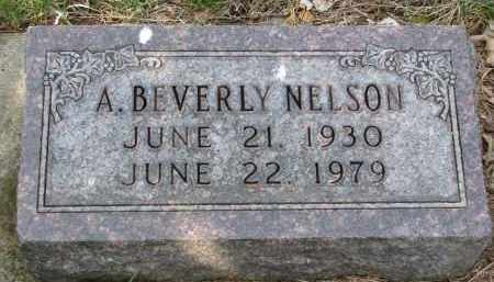 NELSON, A. BEVERLY - Clay County, South Dakota | A. BEVERLY NELSON - South Dakota Gravestone Photos