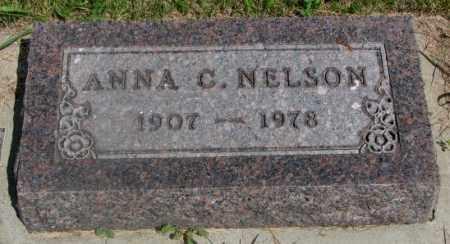 NELSON, ANNA C. - Clay County, South Dakota   ANNA C. NELSON - South Dakota Gravestone Photos