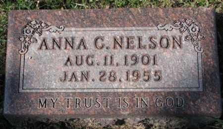 NELSON, ANNA C. - Clay County, South Dakota | ANNA C. NELSON - South Dakota Gravestone Photos