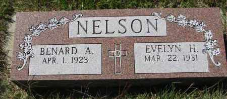 NELSON, BENARD A. - Clay County, South Dakota | BENARD A. NELSON - South Dakota Gravestone Photos