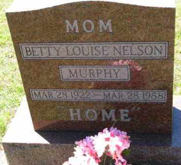 MURPHY, BETTY LOUISE - Clay County, South Dakota | BETTY LOUISE MURPHY - South Dakota Gravestone Photos