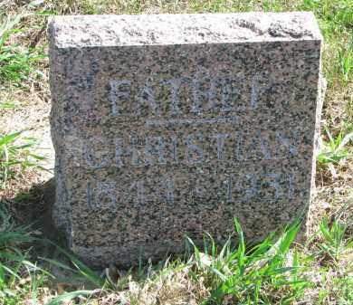 NELSON, CHRISTIAN - Clay County, South Dakota | CHRISTIAN NELSON - South Dakota Gravestone Photos