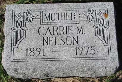 NELSON, CARRIE M. - Clay County, South Dakota | CARRIE M. NELSON - South Dakota Gravestone Photos