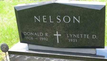 NELSON, DONALD R. - Clay County, South Dakota | DONALD R. NELSON - South Dakota Gravestone Photos