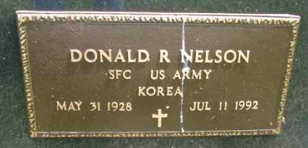 NELSON, DONALD R. (MILITARY) - Clay County, South Dakota | DONALD R. (MILITARY) NELSON - South Dakota Gravestone Photos