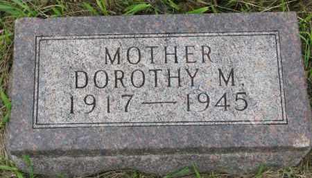 NELSON, DOROTHY M. - Clay County, South Dakota   DOROTHY M. NELSON - South Dakota Gravestone Photos