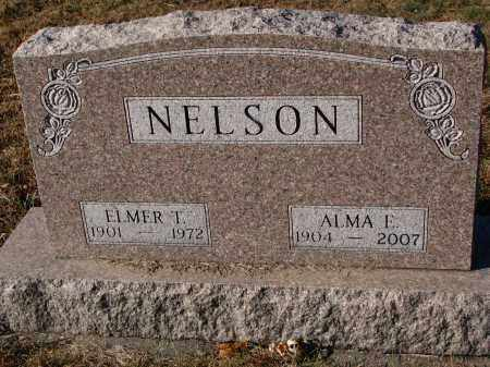 NELSON, ELMER T. - Clay County, South Dakota   ELMER T. NELSON - South Dakota Gravestone Photos