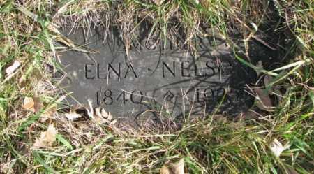 NELSON, ELNA - Clay County, South Dakota | ELNA NELSON - South Dakota Gravestone Photos