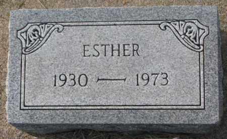 NELSON, ESTHER - Clay County, South Dakota | ESTHER NELSON - South Dakota Gravestone Photos