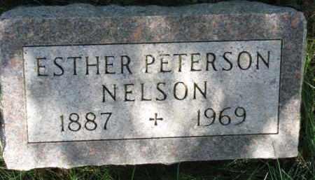 NELSON, ESTHER - Clay County, South Dakota   ESTHER NELSON - South Dakota Gravestone Photos