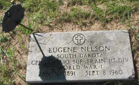 NELSON, EUGENE - Clay County, South Dakota | EUGENE NELSON - South Dakota Gravestone Photos