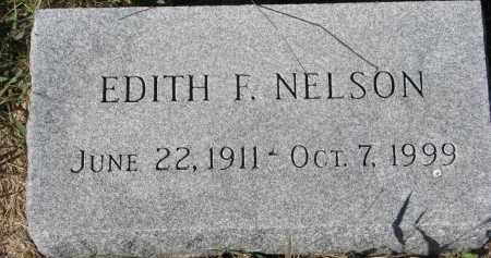 NELSON, EDITH F. - Clay County, South Dakota | EDITH F. NELSON - South Dakota Gravestone Photos