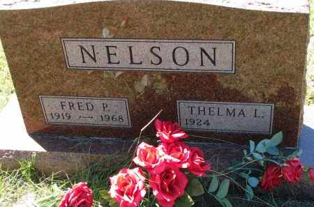 NELSON, FRED P. - Clay County, South Dakota | FRED P. NELSON - South Dakota Gravestone Photos