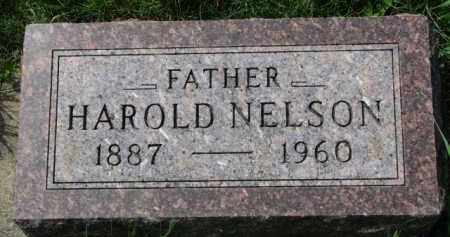 NELSON, HAROLD - Clay County, South Dakota   HAROLD NELSON - South Dakota Gravestone Photos