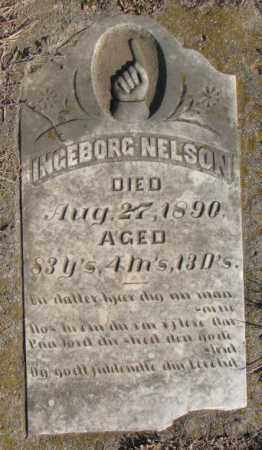 NELSON, INGEBORG - Clay County, South Dakota | INGEBORG NELSON - South Dakota Gravestone Photos