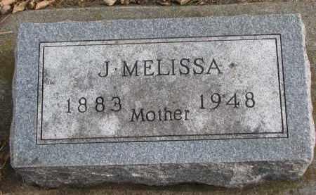 NELSON, J. MELISSA - Clay County, South Dakota | J. MELISSA NELSON - South Dakota Gravestone Photos