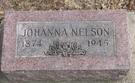 NELSON, JOHANNA - Clay County, South Dakota | JOHANNA NELSON - South Dakota Gravestone Photos