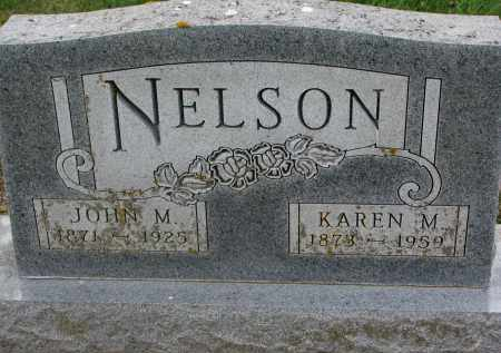 NELSON, JOHN M. - Clay County, South Dakota | JOHN M. NELSON - South Dakota Gravestone Photos