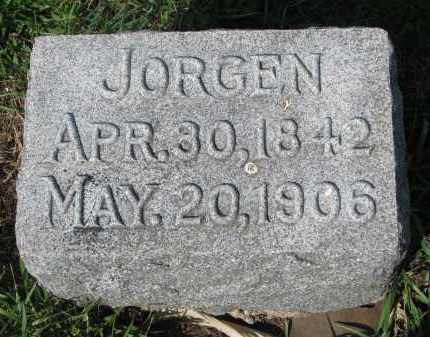 NELSON, JORGEN - Clay County, South Dakota | JORGEN NELSON - South Dakota Gravestone Photos