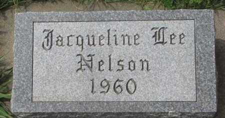 NELSON, JACQUELINE LEE - Clay County, South Dakota | JACQUELINE LEE NELSON - South Dakota Gravestone Photos